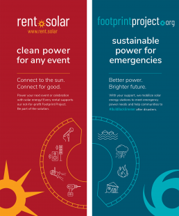 Rent.Solar and Footprint Project banners